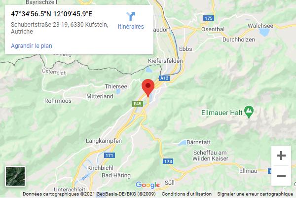 Küfstein dans le Tyrol