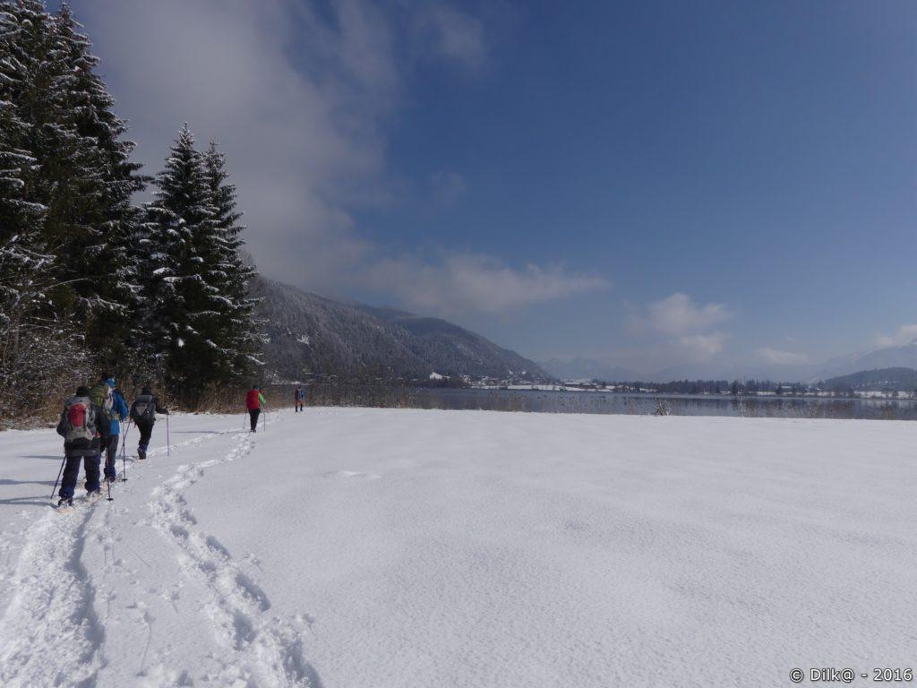 Autour du lac de Walchsee