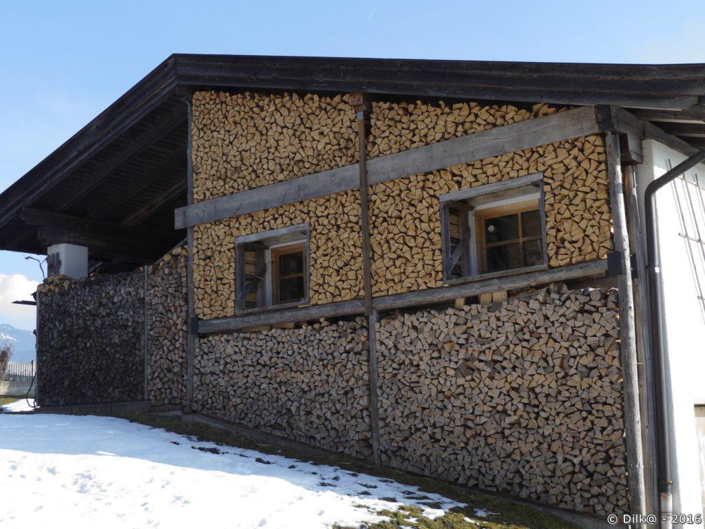 Stock de bois pour l'hiver...