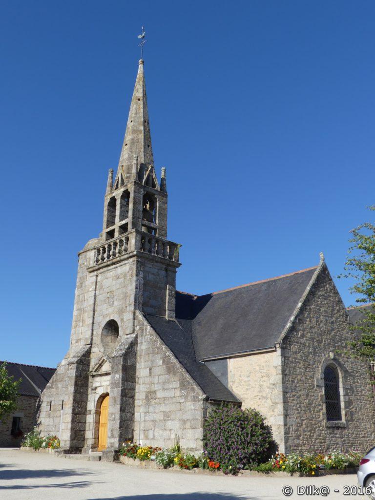 L'église de Nizon