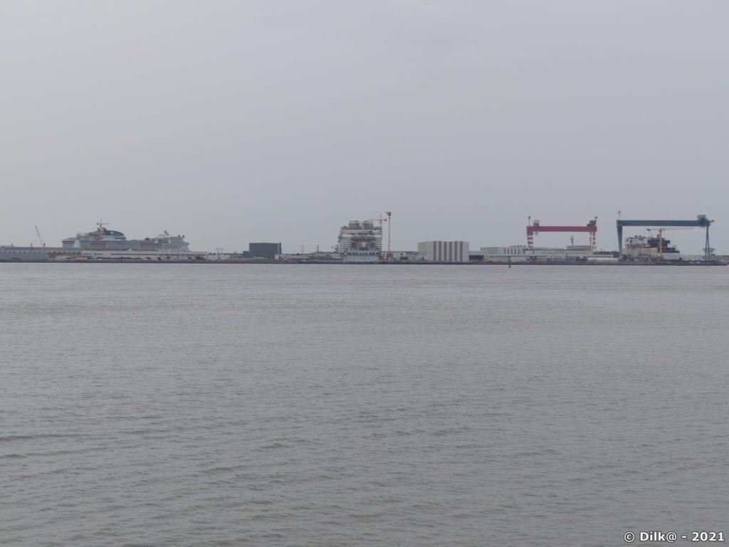 Les Chantiers de l'Atlantique et la construction des paquebots