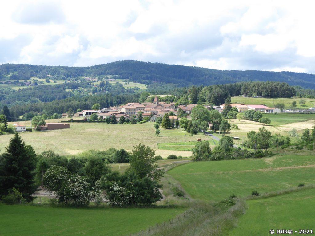 Le village d'Eglisolles à proximité de Montpeloux