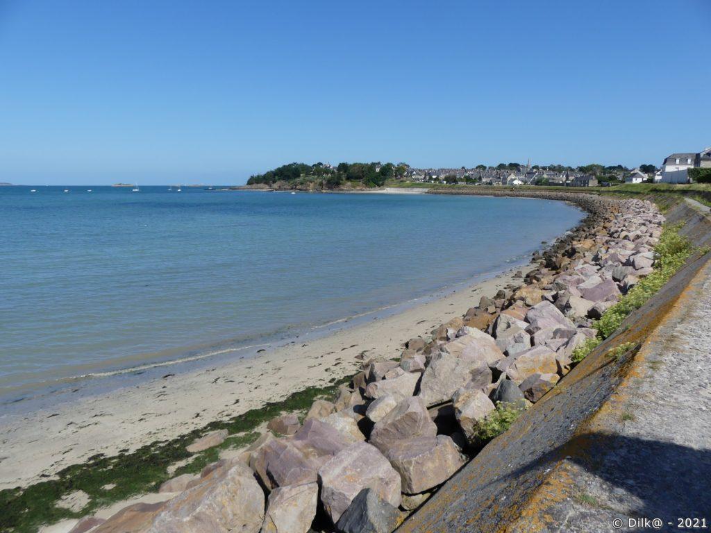 La plage du Ruet à Saint-Jacut-de-la-Mer