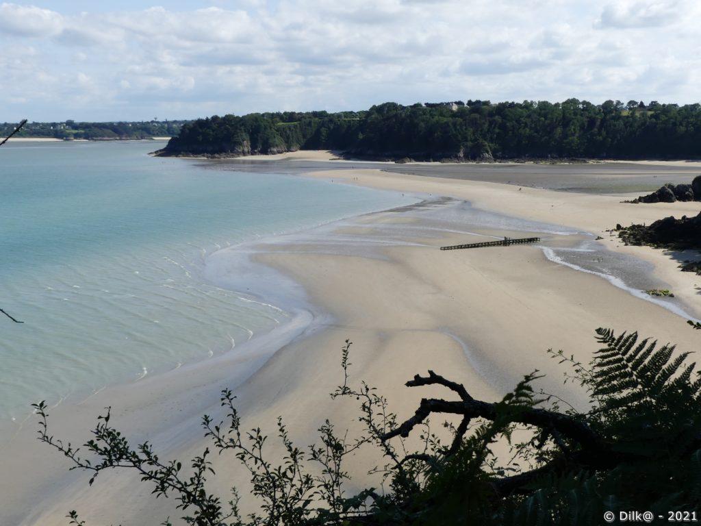 La plage des Quatre Vaux