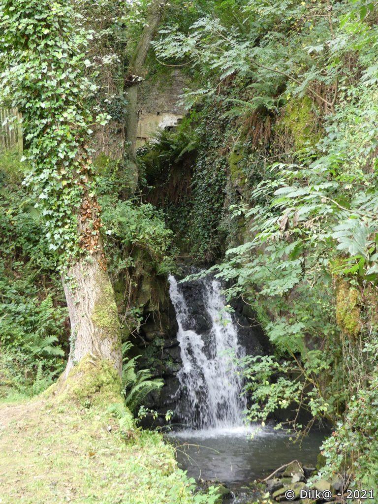 La cascade de la vallée du Moulin de la Mer