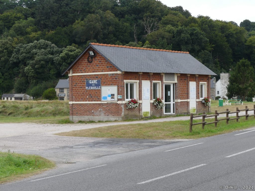 L'ancienne gare de Pleboulle
