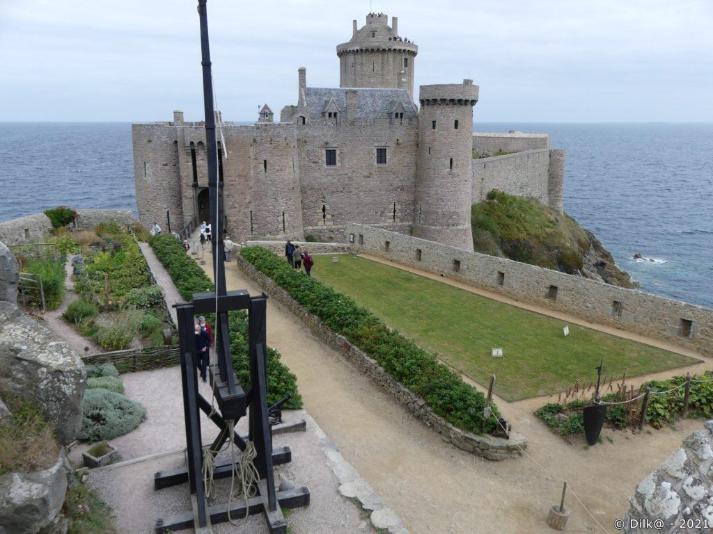 Le jardin du château