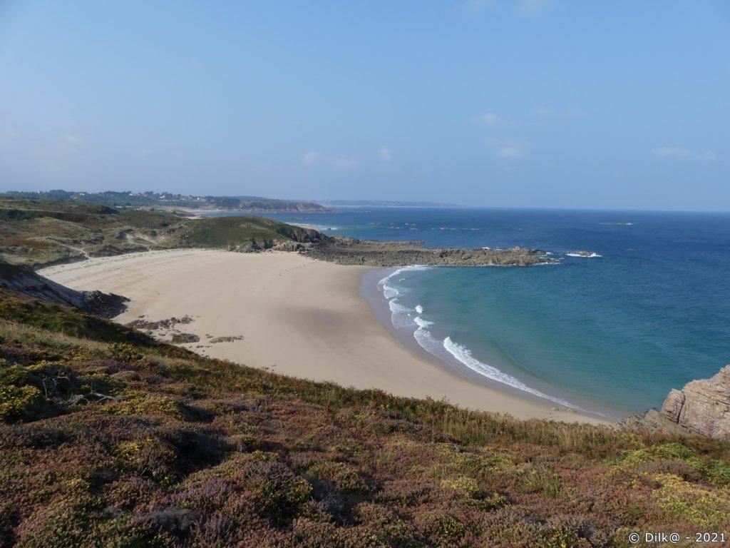 Les premières plages de sable fin après le Cap Fréhel