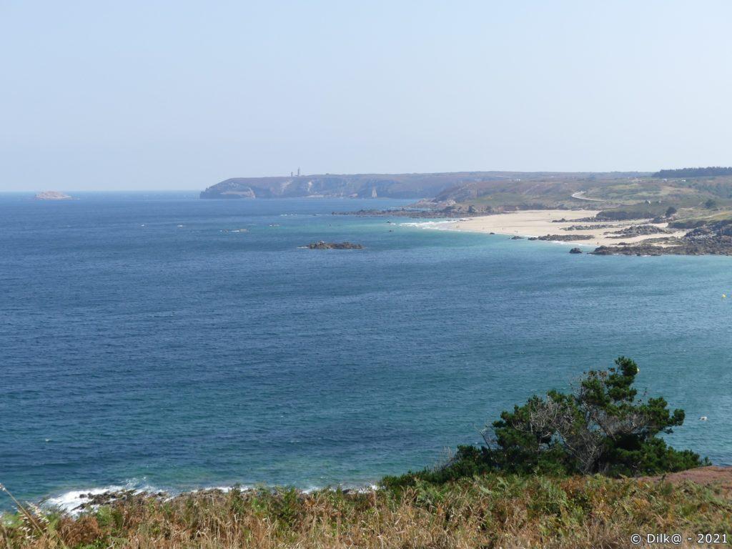 Vue sur le Cap Fréhel, le point de départ de ce jour