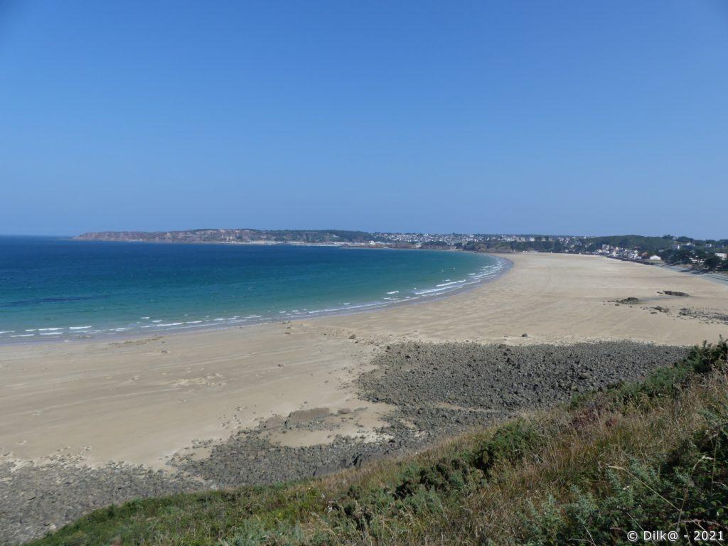 La plage d'Erquy
