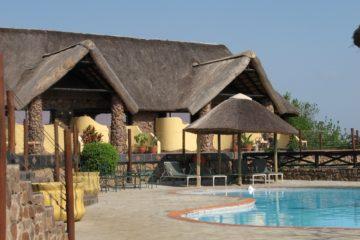 Zulu Nyala Game Lodge situé à l'intérieur de la réserve privée Zulu Nyala