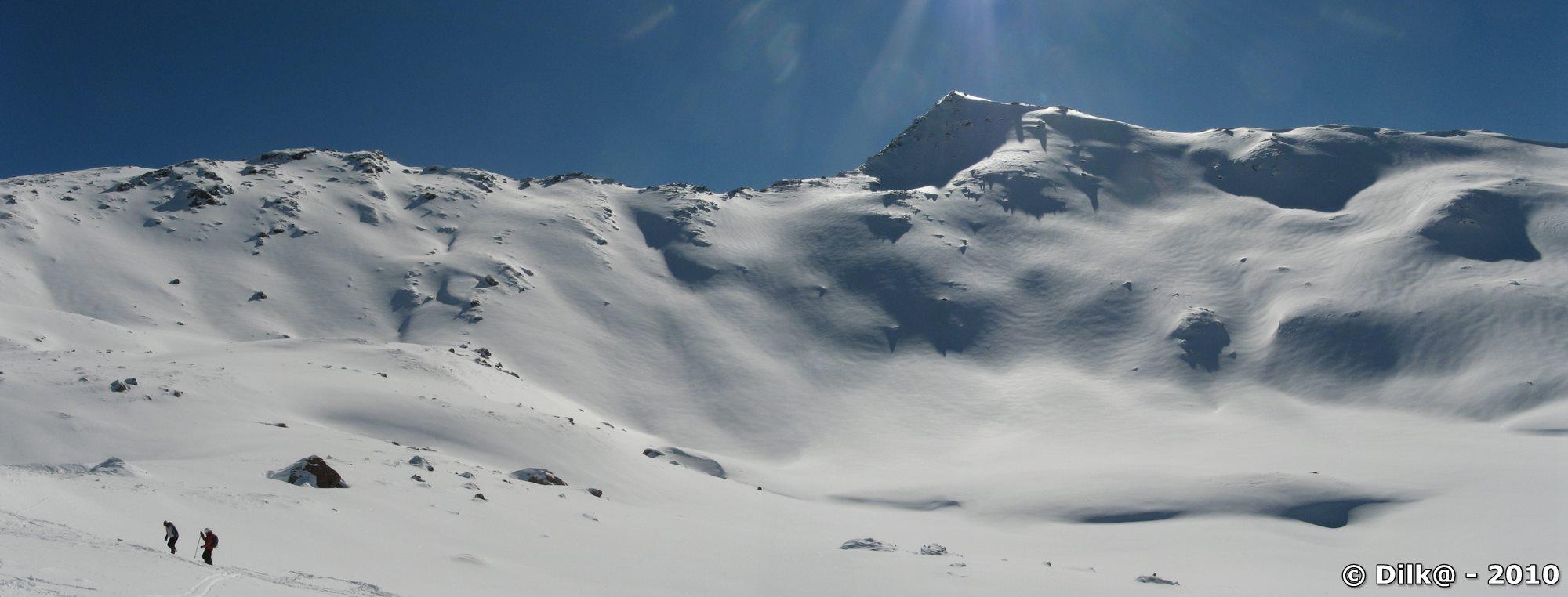 Skieurs hors piste