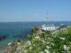Sur le chemin qui longe la mer en direction de Port Lay