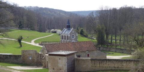 L'ancienne abbaye de Port-Royal des Champs