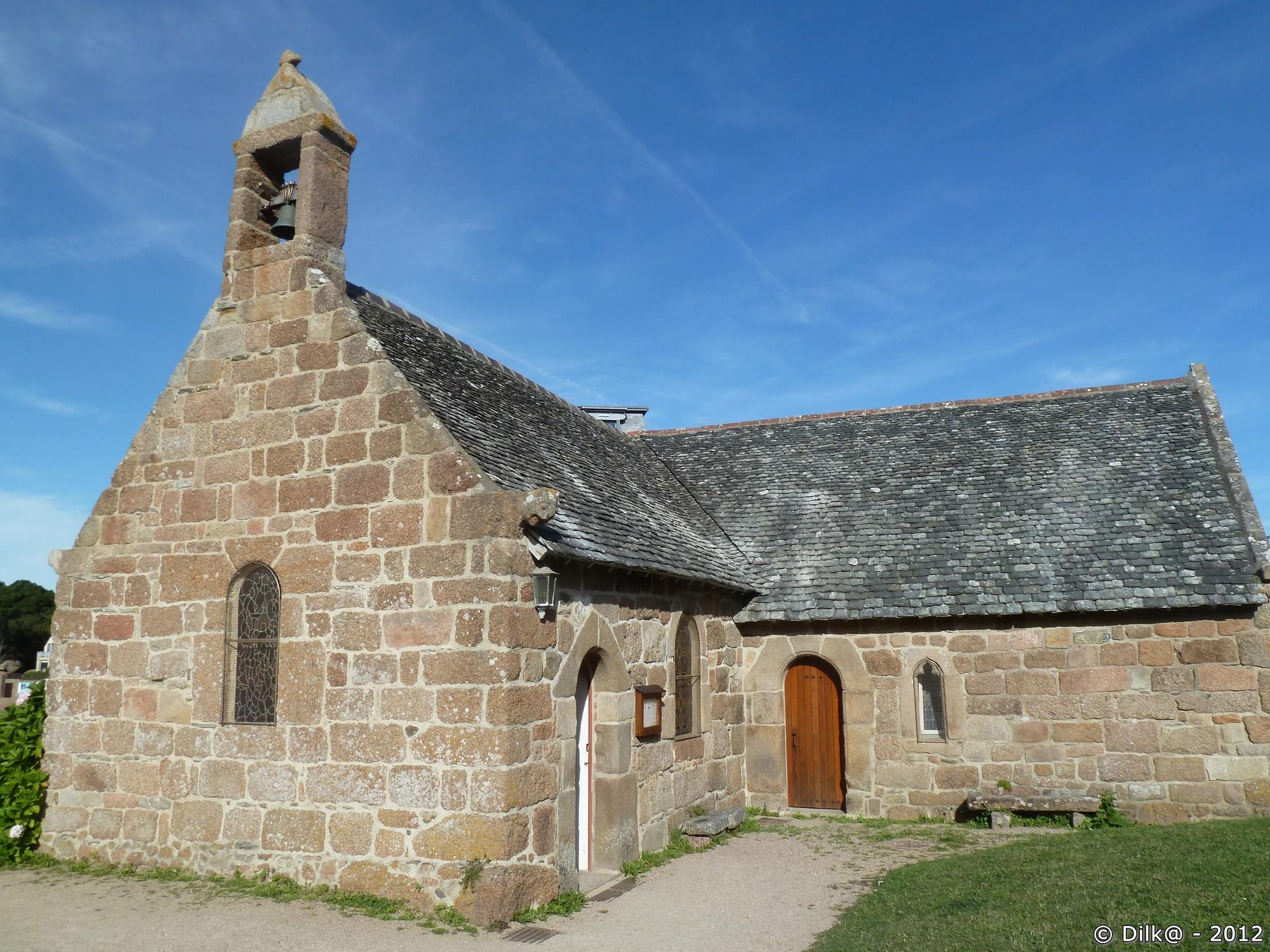 La chapelle de Saint-Guirec