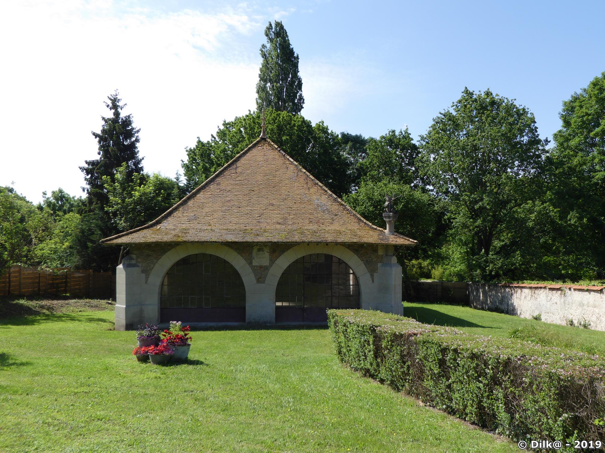 Le lavoir de Saint-Maurice-Montcouronne