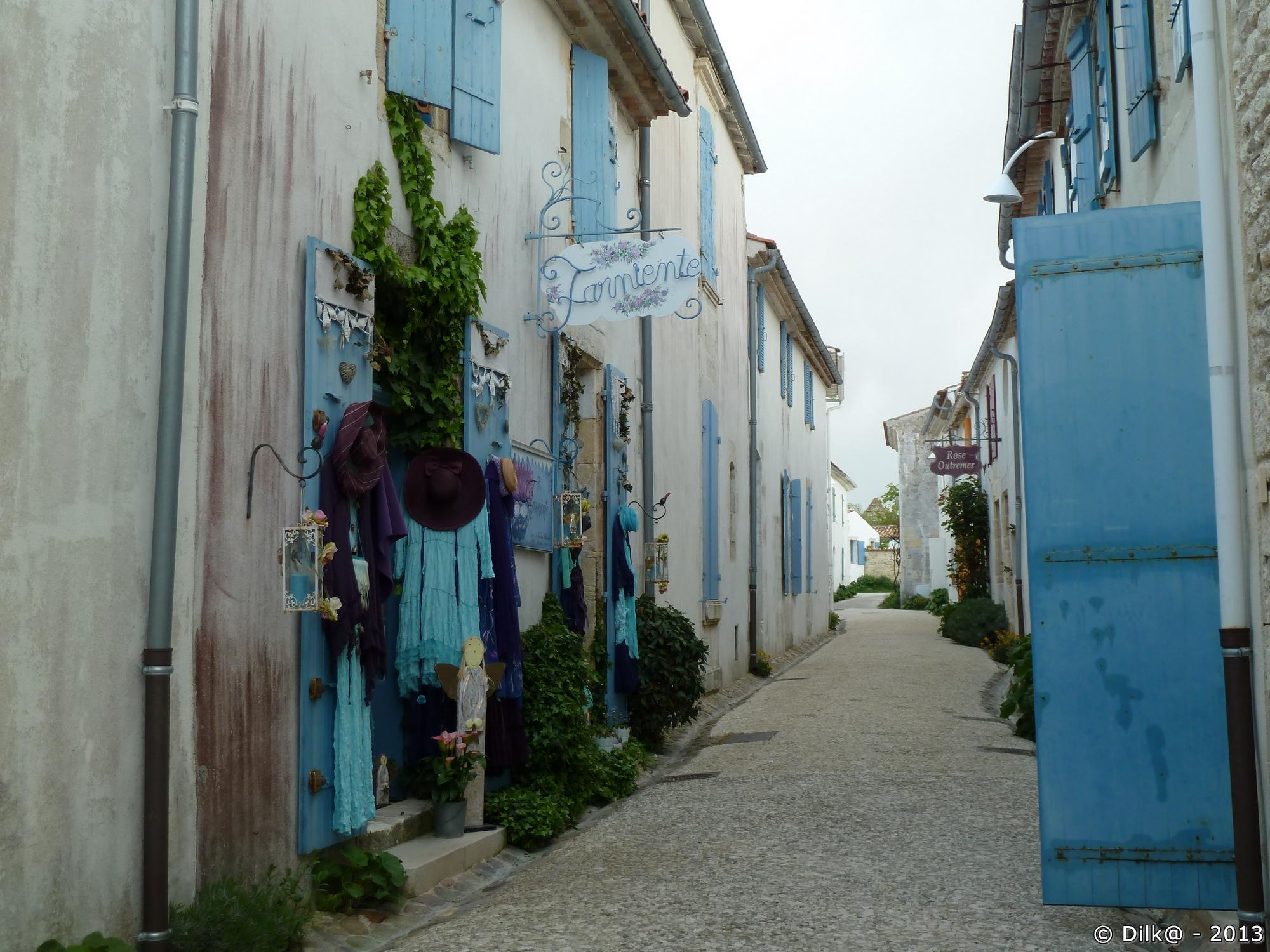 Les petites rues de Talmont