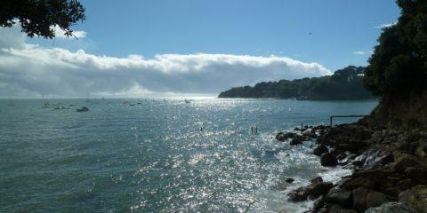 La côte le long du sentier