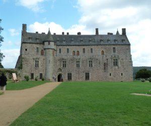 La façade du château